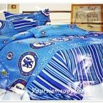 ชุดผ้าปูที่นอนลายทีมฟุตบอล เชลซี ตาราง 6 ฟุต 5 ชิ้น m03