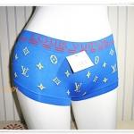 กางเกงในผู้หญิง Lv เนื้อนุ่มสีน้ำเงิน K009