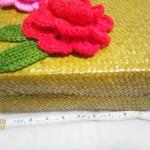 กระเป๋ากระจูดสาน ขนาด 11*5*10 นิ้ว basket weave bags