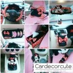 MICKEY-MINNIE- SET 1 แบบแยกชิ้น : POLKA RED DOT
