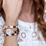 นาฬิกาข้อมือ ผู้หญิง ใส่ทำงาน ออกงาน นาฬิกาข้อมือ สายหนัง ห้อยตุ้งติ้ง แฟชั่นใส่ออกงาน 178045