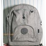กระเป๋าเป้ใส่ notebook kipling เทา KP001