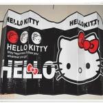 ม่านบังแดดรถยนต์ Hello Kitty สีดำ