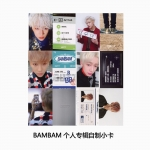 Preorder Card GOT7 J BAMBAM Never Ever FLY