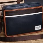 กระเป๋าสะพายข้างผู้ชาย กระเป๋า polo แบบสะพายเฉียง สะพายข้าง แนว Sport สีน้ำเงิน หนัง Pu ใช้งานทนทาน กระเป๋าสะพาย สีน้ำเงิน ใส่ของจุกจิก แบบสวย 769900