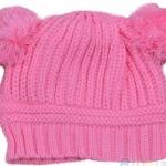 หมวกไหมพรม สำหรับเด็ก มีหู 2 ข้าง น่ารักมาก ๆ ค่ะ สี ชมพู no 70342_2