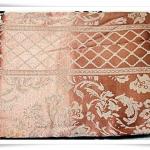 ผ้าคลุมที่นอน ผ้าปูโต๊ะ ผ้าอเนกประสงค์ สีชา ลายไทย 004