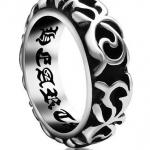 แหวนผู้ชาย แหวน 316L Stainless Steel แกะลาย แบบ ร็อค ๆ เท่ ๆ แหวนผู้ชาย แบบ เท่ ๆ ดีไซน์สวย ของขวัญให้แฟน 679281