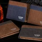 กระเป๋าสตางค์ผู้ชาย ผู้หญิง ใช้ได้ กระเป๋าสตางค์ วัยรุ่น ผ้ายีนส์ แบบสวย ดีไซน์เก๋ กระเป๋าสตางค์ใบสั้น ผ้ายีนส์ เท่ ๆ 579216