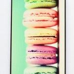 เคส ใส่ iphone 5 5s ลายขนมเค้ก มาการอง