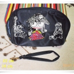 กระเป๋าใส่ของ กระเป๋าใส่เครื่องสำอางค์ Marc By Marc Jacob สีกรมท่า