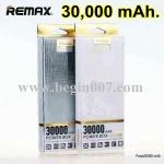 ใหม่ ! แบตสำรอง Remax 30,000 mAh จอLED Display Power Bank (หรู ดีไซใหม่)