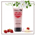 I Love... / Exfoliating Shower Smoothie 200 ml. (Strawberries & Cream) *ส่งฟรี