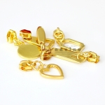 หัวซิปเหล็ก # 5 สีทอง-สีเงิน
