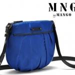กระเป๋าสะพายข้างผู้หญิง กระเป๋า MNG ขนาดเล็ก ใส่ของกระจุกกระจิก มีสายสะพาย หลากสี สีน้ำเงิน ดำ น้ำตาล ฟ้า 194034