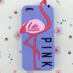 เคส iphone 6 ขนาด 4.7 นิ้ว เคส วิคตอเรีย ซีเคร็ท Pink สีม่วงอ่อน ดอกลาเวนเดอร์ ลาย นกฟลามิงโก้ เคสลาย แปลก หายาก 763134_3