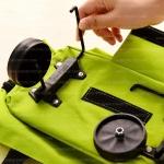 Shopping Trolley Bag Wheel - อะไหล่ล้อ กระเป๋าผ้ามีล้อลาก กระเป๋าสะพายล้อลาก กระเป๋ารพับยืดหดได้มี 2 ล้อ