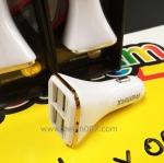 Remax ชาร์จรถ4-ports ใช้ได้ทุกรุ่น ทนใช้งานดีเยี่ยม