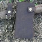 กระเป๋าสตางค์ผู้ชาย แนว วินเทจ กระเป๋าสตางค์ เท่ ๆ สไตล์ คาวบอย กระเป๋าสตางค์ แบบมีสายสะพาย แนว วัยรุ่น เท่ ๆ แบบมีดีไซน์ 48564
