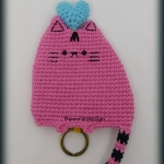 Key cover Pusheen