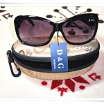 แว่นตากันแดด D&G พร้อมกล่อง