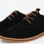 รองเท้าหุ้มส้น ผู้ชาย รองเท้าผู้ชาย สไตล์ Oxford แบบทางการ สีดำ หรูหรา มีสไตล์ ใส่ได้กับ กางเกงยีนส์ กางเกง สแล็ค กางเกงสามส่วน 17024