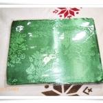 ผ้าห่มแพร 5 ฟุต สีเขียวแก่ P106