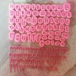 แม่พิม ภาษาไทยรวมสระ Font Basic แม่พิมซิลิโคน ขนาด 1.5cm.