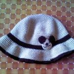หมวกสีครีม
