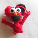 ที่ห้อยกระเป๋า พวงกุญแจตุ๊กตาอีโม ปอมปอม dolls pom pom amigurumi crochet keychain
