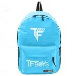 กระเป๋าเป้ TFboys [ดำ เขียว ฟ้า]