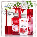 Bath & Body Works / Wrapped with a Bow Gift Set (Japanese Cherry Blossom) *ขายดี