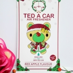 Ted A Car / Air Freshener (Red Apple)