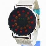 นาฬิกาข้อมือ นวัตกรรมใหม่จากญี่ปุ่น ไฟ Led ทั้งหน้าจอ สีแดง no 83113