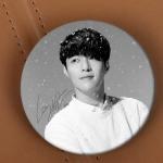 Preorder เข็มกลัด Lay EXO Sing for u HZ1747