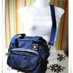 กระเป๋าสะพายข้าง Kipling ถอดสายได้ สีน้ำเงิน K101