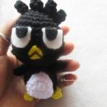 พวงกุญแจแบดแบดมารุถัก badbadz maru amigurumi crochet