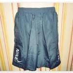 กางเกงขาสั้นผ้าร่ม สีเทา NE002