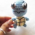 เซนิกาเมะ โปเกม่อนถักโครเชต์ Zanigame pokemon amigurumi crochet