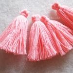 พู่สีโอรสโครเชต์ ด้ายถัก venus เบอร์ 16 rose tassel crochet acrylic yarn no.16