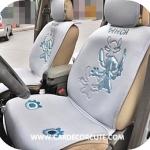 STICTH-ชุดผ้าคลุมเบาะรถยนต์ เซ็ต 7 ชิ้น