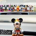 คละแบบ - ตุ๊กตาเซ็ต Disney Mickey & Minnie 12 ชิ้น วางตกแต่งหน้ารถยนต์