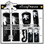( ลด 15 % ) MICKEY SET- แบบเซ็ต 7 ชิ้น : SILVER BLACK MICKEY MOUSE
