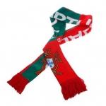 ผ้าพันคอ ทีมฟุตบอลโลก ลาย ทีม Portugal โปรตุเกส สีแดง no 684381