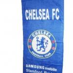 ผ้าเช็ดตัว ผ้าขนหนู ลายทีม Chelsea สีน้ำเงิน ผืนใหญ่