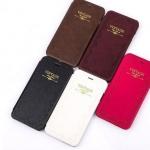 เคสหนัง เคส iPhone 6 plus 5.5 นิ้ว สไตล์ วินเทจ แบบสวย มีสเน่ห์ สวยหรู เคสแนว คลาสสิค แบบมีฝา เปิดปิดได้ เรียบหรู มีดีไซน์ สีดำ น้ำตาล ชมพู ขาว 178945