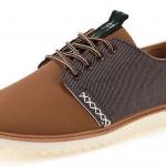 รองเท้าผ้าใบ ผู้ชาย รองเท้าใส่เที่ยว รองเท้าหุ้มส้น ผ้าแคนวาส หรือ ผ้ายีนส์ สีน้ำตาลอ่อน รองเท้าใส่เที่ยว แบบเท่ ๆ ยืดหยุ่น ใส่สบาย 517968_1