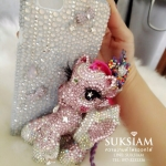 My Little Pony case iphone โพนี่เคสไอโฟน 7 สวยยิ่งใหญ่อลังการจัดเต็มด้วยคริสตัลหรู ID: A384