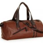 กระเป๋าเดินทาง กระเป๋าใส่เสื้อผ้า กระเป๋าฟิตเนส เข้ายิม กระเป๋าหนัง ใส่เสื้อผ้า แบบเรียบ หรู ถือไปทำงานได้ 222066