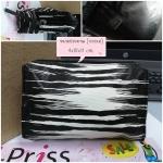 กระเป๋าเครื่องสำอางค์ Estee Lauder สีดำครีม